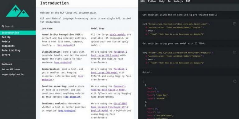 La start-up NLP Cloud intègre le modèle open-source GPT-J dans son interface de programmation NLP