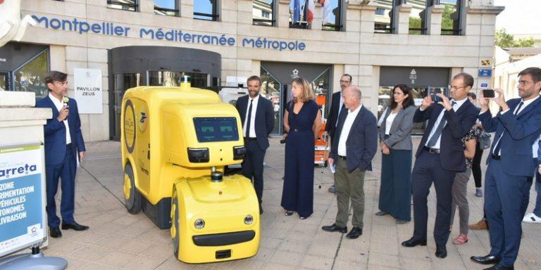 Dans le cadre d'une expérimentation, Montpellier accueillera prochainement des véhicules autonomes dédiés à la logistique