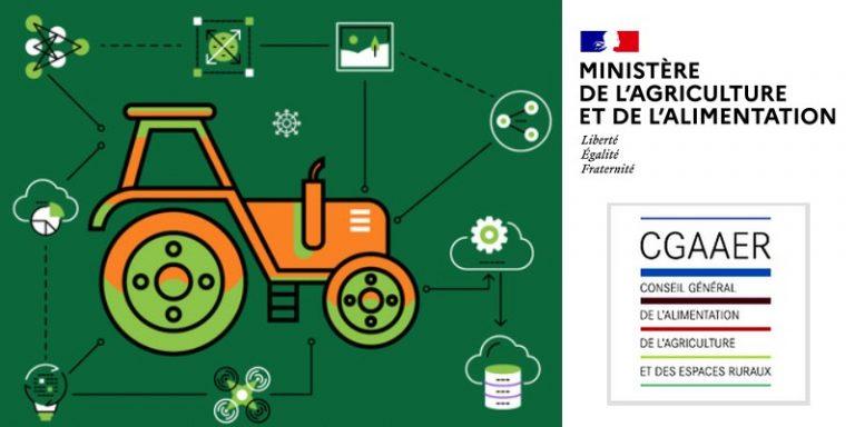 Le CGAAER propose son rapport sur l'impact de la transformation numérique sur les métiers du ministère de l'Agriculture