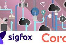 Sigfox Coral partenariat internet des objets