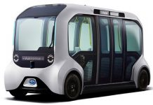 Toyota e-Palette bus véhicule autonome accident