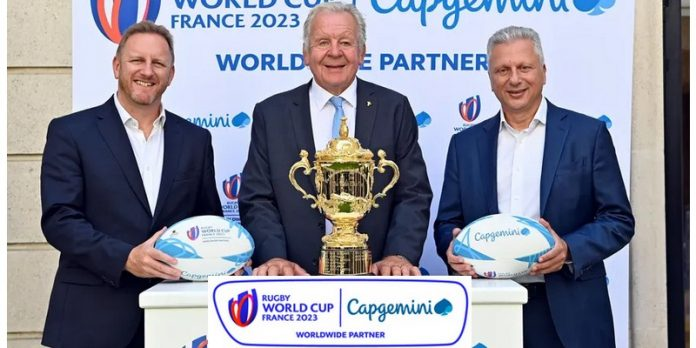 Capgemini World Rugby partenariat analyse données intelligence artificielle cloud transformation numérique
