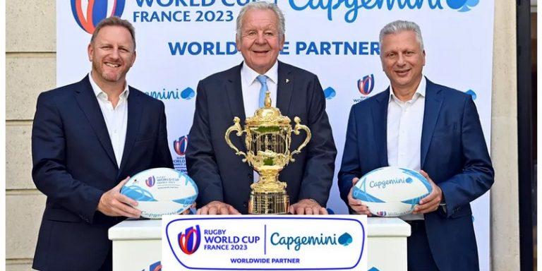 Capgemini devient le partenaire en transformation numérique de World Rugby jusqu'à la coupe du monde 2023