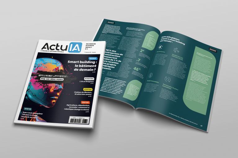 Recevez le numéro 5 d'ActuIA, le magazine de l'intelligence artificielle