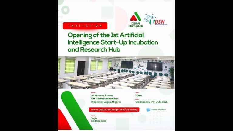 Data Science Nigeria lance son programme d'incubation en compagnie de 12 start-up innovantes