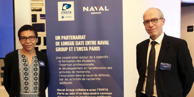Le laboratoire commun sur l'ingénierie système et l'intelligence artificielle (LC2IA) est renouvelé par ENSTA Paris et Naval Group