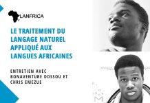 Lanfrica le traitement du langage naturel appliqué aux langues africaines Bonaventure Dossou Chris Emezue