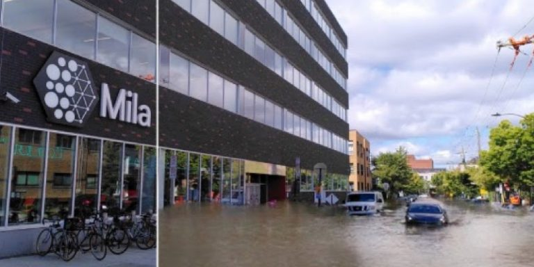 Climate change: Mila provides experience of natural disasters to raise awareness