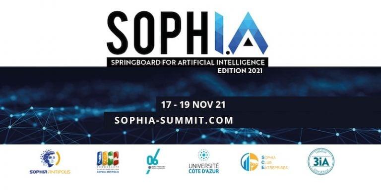Rendez-vous du 17 au 19 novembre 2021 pour la 4ème édition du Soph.I.A. Summit