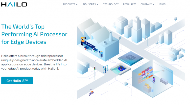 HAILO, the Israeli start-up famous for its Hailo-8 processor, raises $136 million and joins the exclusive club of unicorns