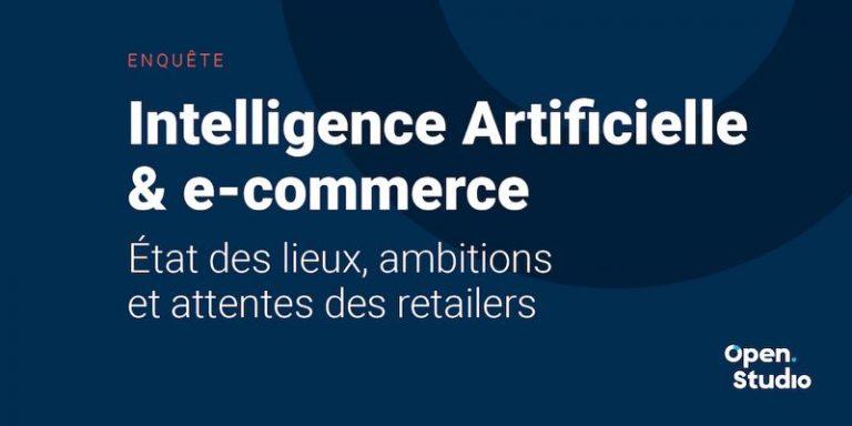 Enquête sur l'IA et le retail : état des lieux et prévisions pour le e-commerce