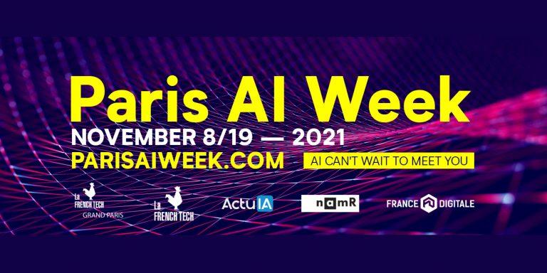 La French Tech Grand Paris rassemble l'écosystème IA français pendant la Paris AI Week, du 8 au 19 novembre 2021