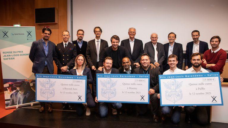 Les startups Manitty, PaIRe et Beyond Aero récompensées lors de la 11e édition du prix Jean-Louis Gerondeau – Safran